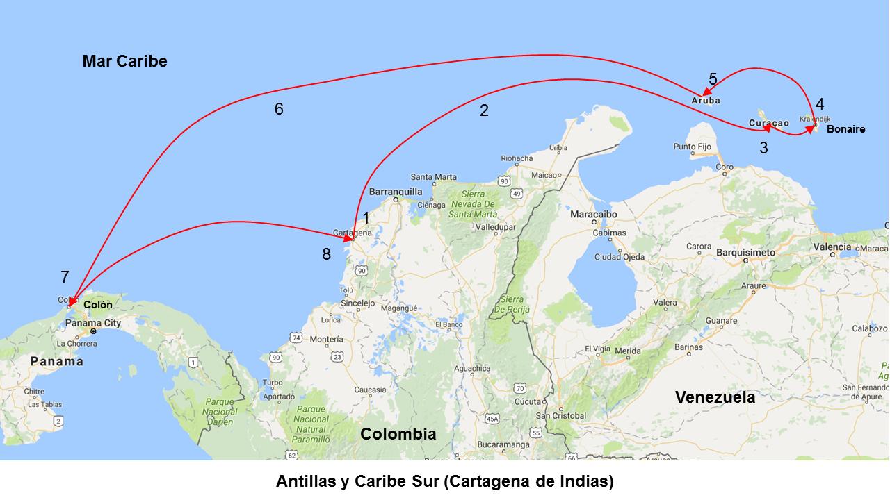 Resultado de imagen para ANTILLAS Y CARIBE SUR